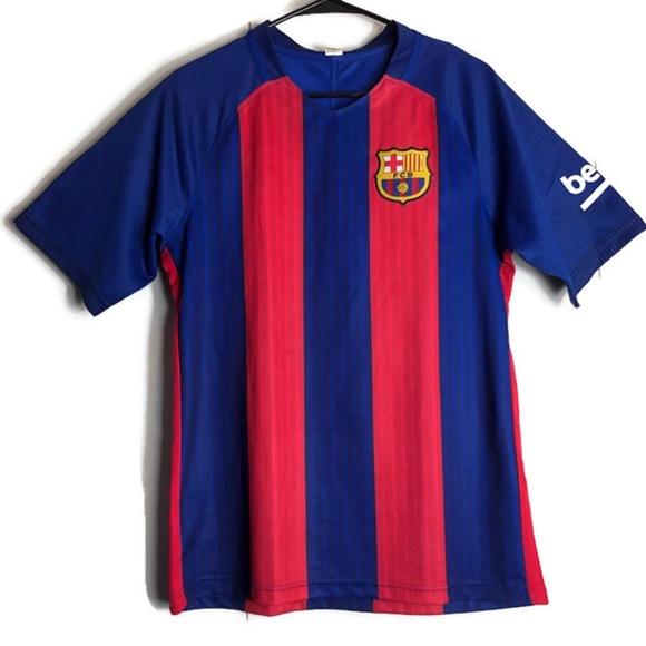 official photos 67337 ff622 FCB FC Barcelona Unicef Beko Soccer Jersey Shirt